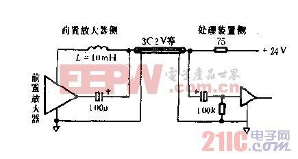 线激励型前置放大器电路图.gif