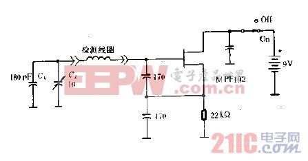 金属检测器电路图B.gif