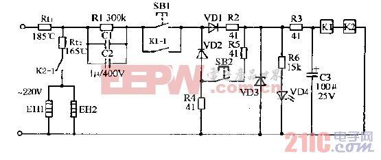 希贵DXR-60高温电子消毒柜电路图