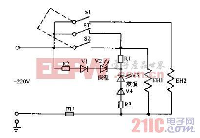 乐宝,富豪CFXB-4系列,CFXB-IH系列保温式自动电饭锅电路图