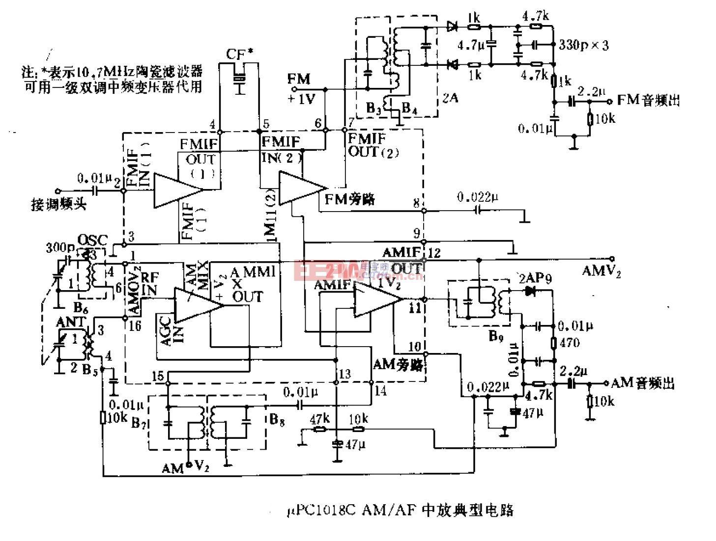 调幅 调频中放集成电路uPC1018C.gif