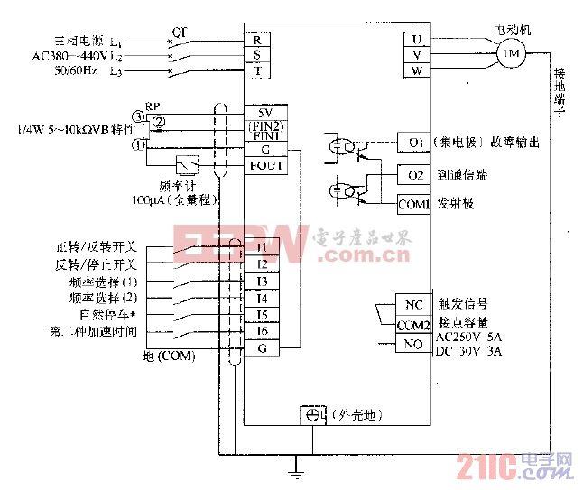 松下DV707H变频典型应用电路.gif