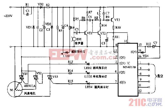 杨子牌FS-40落地扇电路图.gif