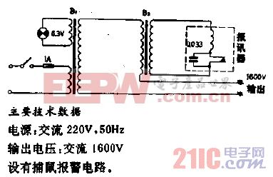 DM-2型电猫电路电路.gif