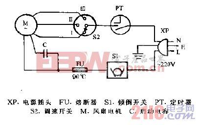宝石KYT-30A转页扇电路图.gif