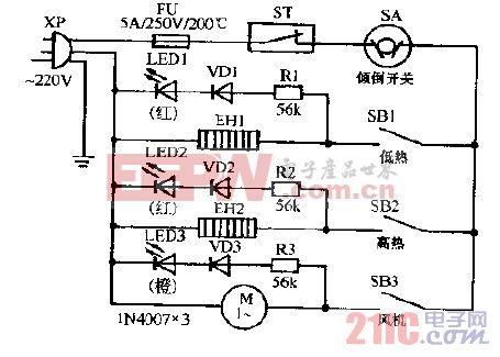 怡昌WJ-18E暖风机电路图.gif
