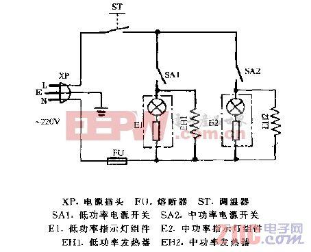 美的NY-18K,NY-21K充油式电暖器电路图.gif