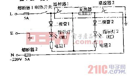 夏尔YB-5T,YB-5TL,YB-5TI,YR-5M温热饮水机电路图.gif
