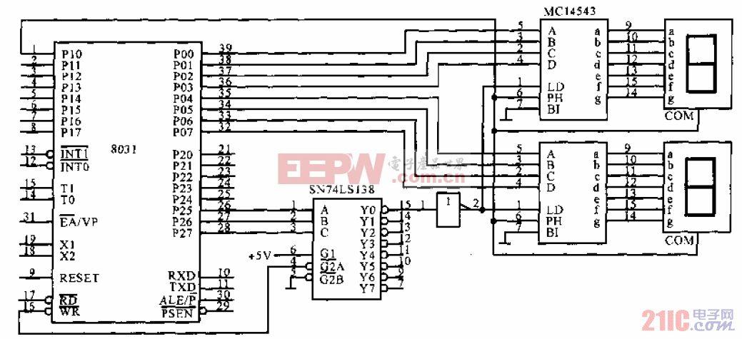 LCD7段显示器与单片机的接口.gif