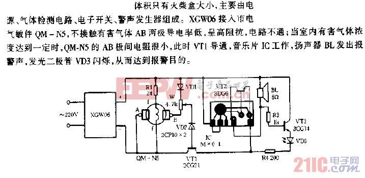 XGW06作电源的煤气报警器.gif