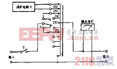 自动稳压器原理图.gif