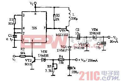 组成 直流 电路图 变换 升压/555组成直流升压变换电路图[收藏]