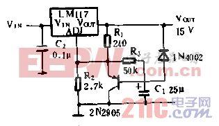 高稳定性10V稳压电源电路.gif