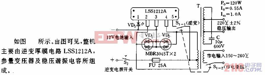 正弦波逆变器电路.gif