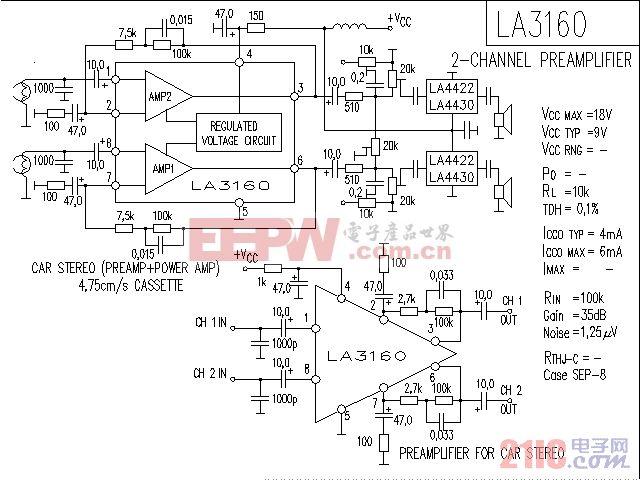 LA3160音响IC电路.gif