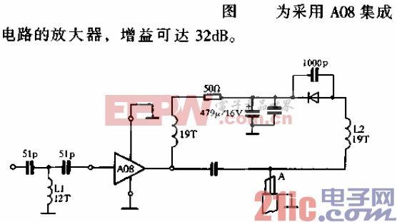 高性能的天线放大器电路c.gif
