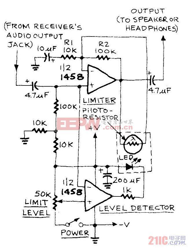 低失真音频限制器电路.jpg