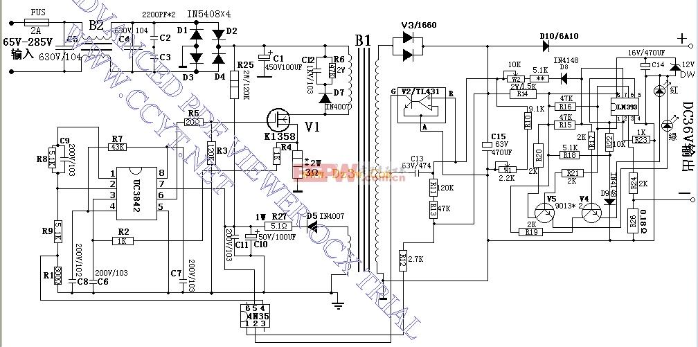 电动车电瓶充电器电路图图片
