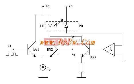 射极耦合驱动电路