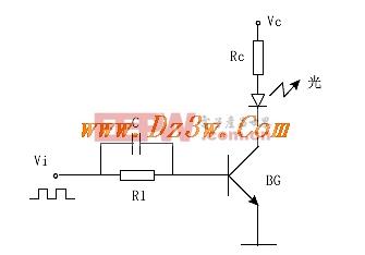 共射极激光二极管驱动电路 www.dz3w.com