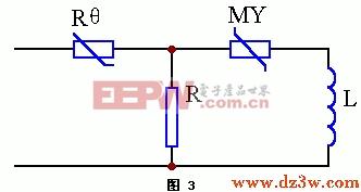 彩电消磁电路的过压保护