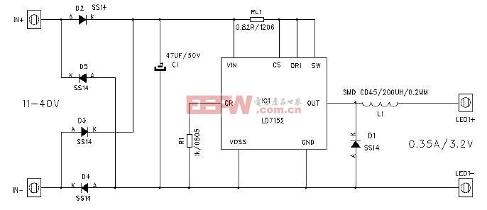 LD7152应用电路图