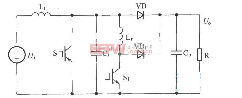 普通Boost ZVT-PWM变换器电路