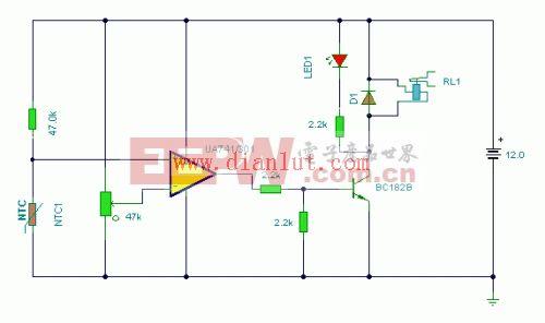 温度监视器电路
