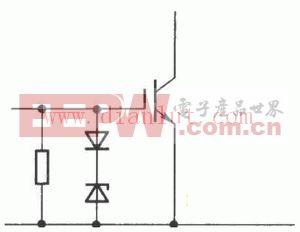 IGBT绝缘栅双极晶体管栅极过压保护电路