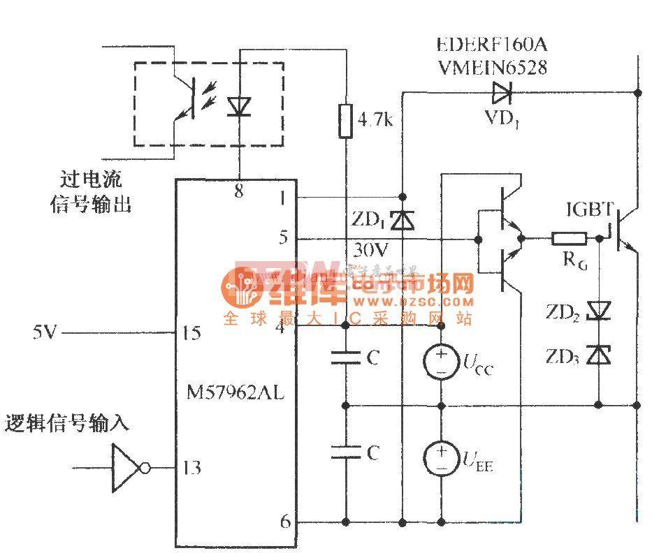 M57962AL的应用电路