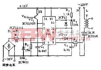 单相交流调压的移相触发电路图-单相交流调压的移相触发电路图片
