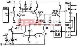 先科VCD机检修电路图