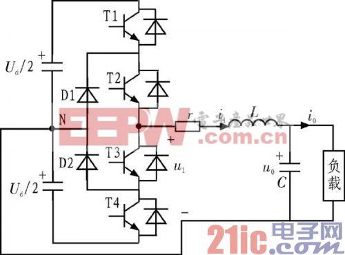 SPWM波控?#39057;?#30456;逆变器双闭环PID调节器的Simulink建模与仿真