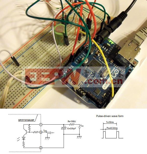 牛人DIY:关注空气质量 Arduino检测器教程
