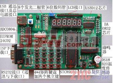 电子人嵌入式开发板的功能配置