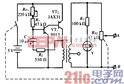 27.家用电疗仪电路(一).gif