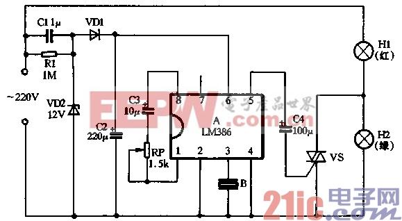 42.用LM386制作双色声控音乐彩灯.gif