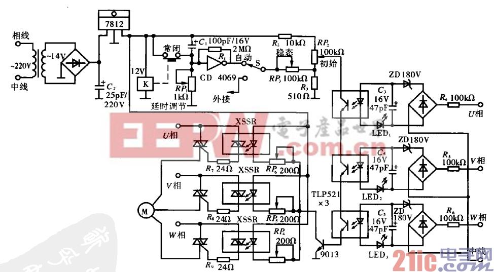 47.固态继电器电动机驱动电路.gif