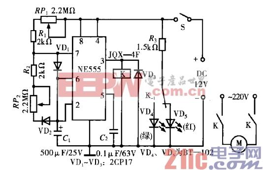 26.电力搅拌器间歇运转控制器电路.gif