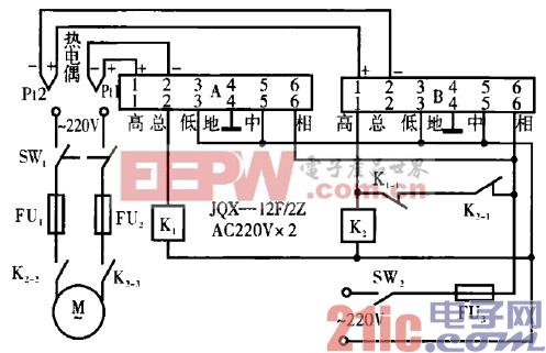 7.大型温室排气扇自动控制电路.gif