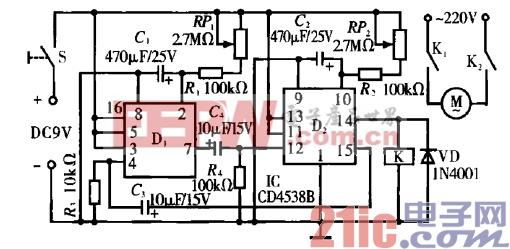 1.电器间歇运转控制电路.gif