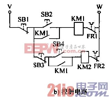 电动机延时起动控制电路a -控制 IC图片