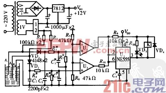1.防电极电解的自动水位控制电路.gif