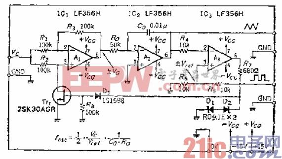 6.线性好的三角波-方波输出VCD.gif