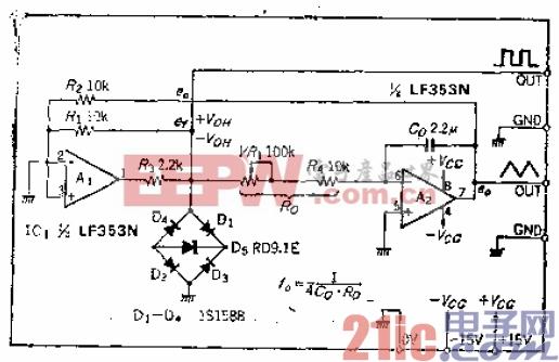 5.稳定的超低频三角波-方波振荡电路.gif