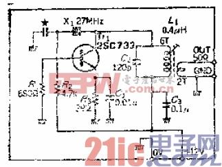 15.可获得100mW输出的皮尔斯C-B石英晶体振荡电路.gif
