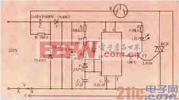 57.一款风扇自然风电源控制电路.gif