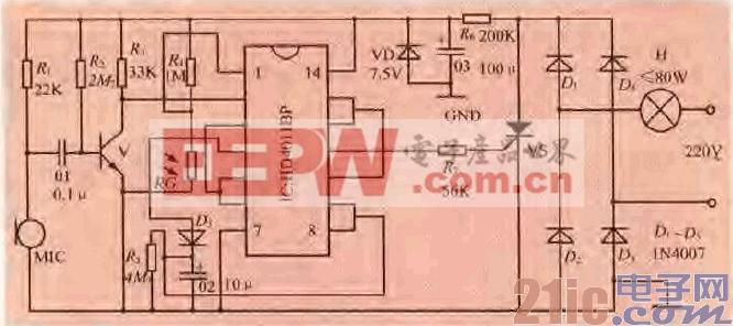 69.一款声光控制开关电路(一).gif