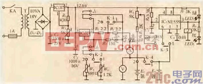 52.一款锂离子、镍氢电池两用充电电路.gif