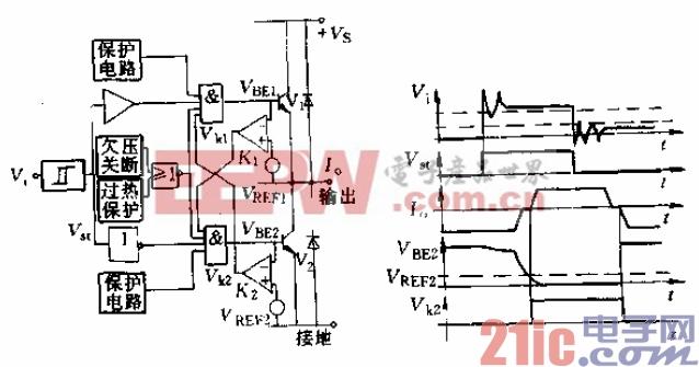 15.TLE4203推挽输出连锁电路和波形图.gif